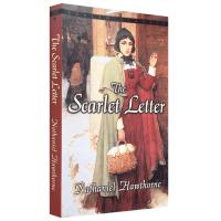 正版 英文原版 The Scarlet Letter 红字 美国文学经典名著 英文版进口英语书籍 诺贝尔文学奖作者霍桑