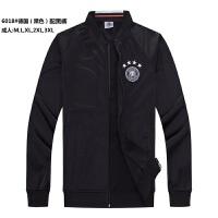 16-17新款足球训练服套装男儿童足球服定制队服长袖衫球服团购足球球衣德国长袖球服套装