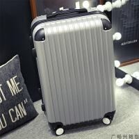 行李箱女手拉箱皮箱密码箱青年男士拉杆箱万向轮旅行箱韩版24寸潮