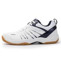 运动鞋男鞋乒乓球鞋羽毛球鞋耐磨牛筋底透气女鞋休闲鞋子 WL-3499白蓝