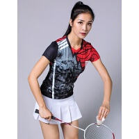羽毛球服套装女款短袖短裙夏季乒乓球网球服透气速干运动短裤上衣