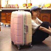 拉杆箱万向轮行李箱铝框箱包密码箱20寸登机箱24寸可爱行李箱ud