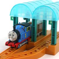 儿童电动托马斯火车站台轨道玩具套装宝宝小火车轨道男孩玩具