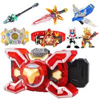 捕王腰带捕将棍武器全套公仔人偶刑天铠甲勇士玩具召唤器