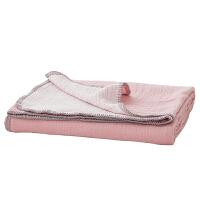 小毛毯夏季薄款空调办公室沙发单人双人棉珊瑚绒毛巾被午睡毯子