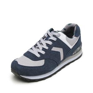 SHOEBOX/鞋柜新款系带休闲运动鞋男鞋