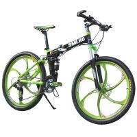 自行车24速山地自行车铝合金男女变速碟刹山地车