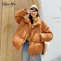 七格格羽绒服女2019新款冬季白鸭绒加厚韩版时尚外套宽松面包服潮
