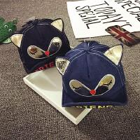 宝宝帽子1-2岁春秋儿童鸭舌帽韩版薄款棒球帽婴儿帽子6-个月潮