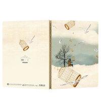 千寻素描本创意速写本原创手绘本硬壳记事本绘画本记事本子超厚