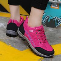 新款登山鞋春夏户外女徒步鞋防滑耐磨旅游鞋爬山运动防水轻便女鞋