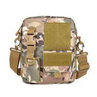 户外运动包防水单肩包男士斜挎包迷彩包小单肩挂包手机腰包ipad包