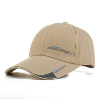帽子男士 春夏天鸭舌帽潮加长帽檐棒球帽遮阳女士钓鱼运动帽 可调节