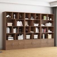 【爆款】E1级书柜书架落地简约桌上现代简易卧室置物架办公家用大容量高款书架