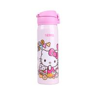 【网易考拉】THERMOS膳魔师限量款凯蒂猫 HelloKitty超轻不锈钢真空保温保冷杯JNL-500(KT) 50