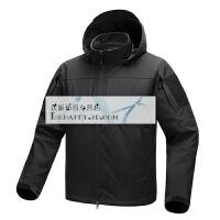 风神户外战术薄软壳衣 春秋男士防水登山徒步夹克外套上衣 X