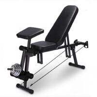 多功能健身器材家用仰卧板哑铃凳仰卧起坐板折叠 健身椅