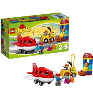 [当当自营]LEGO 乐高 duplo得宝系列 繁忙的机场 积木拼插儿童益智玩具 10590