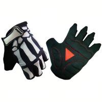 自行车骑行硅胶半指手套运动手套 骑行装备山地车短指骑行手套