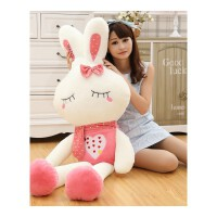 可爱毛绒玩具兔子抱枕公仔布娃娃大玩偶睡觉女孩床上懒人生日礼物