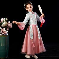 儿童襦裙汉服旗袍古装中国风唐装超仙女秋季长袖