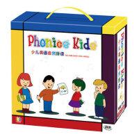 phonics kids 少儿英语自然拼读教材书幼儿童英语启蒙视频DVD光盘