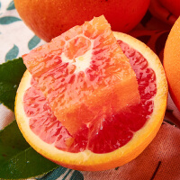 西域美�r 橙秭�w血橙中�A�t橙�F摘新�r橙子����季水果5斤�b
