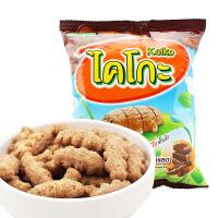 【满99减50元】泰国进口卡啦哒巧克力味米球(膨化食品)17g膨化米球休闲零食
