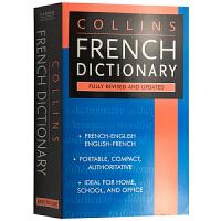 英文原版 Collins French Dictionary 英文版 柯林斯法语英语词典 法英双语原版字典 正版进口书