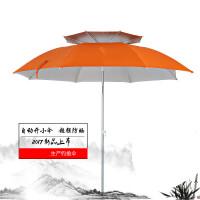 钓鱼伞万向防晒1.8/2米折叠双层超轻垂钓太阳遮阳伞