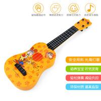 【支持礼品卡】儿童趣味吉他玩具 仿真可弹奏男孩 初学者乐器女孩尤克里j2t