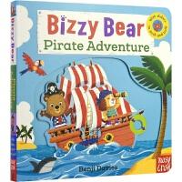 Bizzy Bear 小熊好忙 Pirate Adventure 海盗探险 儿童互动英语纸板机关书 英文原版进口绘本图书