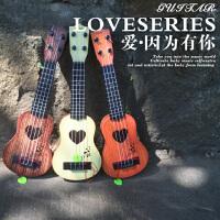 【满2件5折】活石儿童初学尤克里里小吉他音乐玩具
