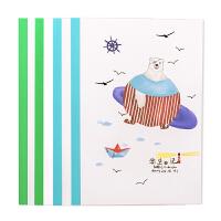 晨光学生文具 A5日记本/英语本 无线装订本 学生软抄本笔记本 小学生日记本/英语本 颜色图案随机