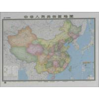 中华人民共和国地图(星球・新版) 总参谋部测绘导航局 编制