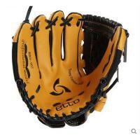 精致大方耐磨棒球手套青少年儿童左右手10/11英寸耐磨手套