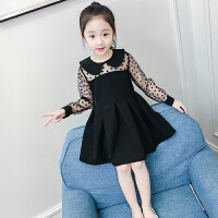 女童连衣裙春装新款儿童蕾丝网纱公主裙童装夏装女孩洋气裙子
