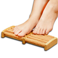 搓脚板木质足底按摩器送父母中老年人礼物滚轮式足部按摩穴位搓排足底按摩板1