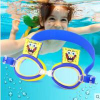儿童泳镜 男童高清防水防雾游泳眼镜可爱女童潜水镜游泳装备