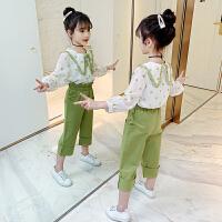 女童套装春装2020新款儿童两件套小女孩时髦童装
