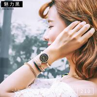 时尚手表女潮流大气韩版女士手镯手链套装女表学生防水时装表