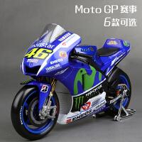 罗西雅马哈MotoGP 摩托赛车杜卡迪仿真合金摩托车模