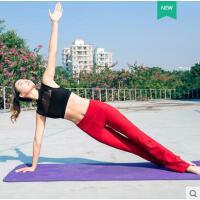 户外健身性感时尚女士瑜伽服晨跑健身服文胸喇叭裤跑步健身房运动套装