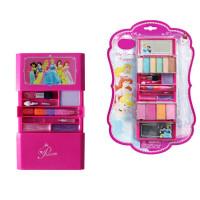 儿童眼影盘彩表演女孩公主儿童化妆品彩妆套装盒表演专用 粉红色