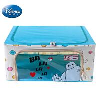 """[当当自营]迪士尼Disney正品 44L 超能陆战队""""大白""""D-457(蓝色)牛津布折叠收纳箱 整理箱 收纳盒"""