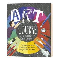 【众星图书】华研原版 艺术课程 英文原版 The Art Course 儿童艺术绘本 英文版进口原版英语书籍
