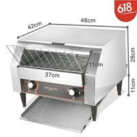 链式多士炉烤面包机商用烤吐司机酒店早餐机全自动履带式烤面包机