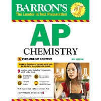 英文原版 巴朗AP化学,第9版 Barron's AP Chemistry, 9th Edition: With Bo