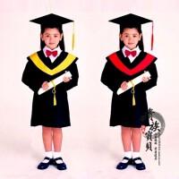 儿童演出服幼儿园博士服儿童博士服小学生毕业照礼服学士服毕业服