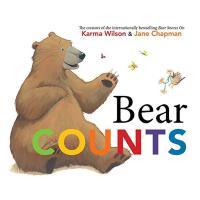 Bear Counts,小熊数数 英文儿童绘本